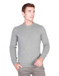 Trussardi jersey cuello redondo - gris