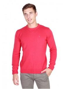 Trussardi jersey cuello redondo - rojo