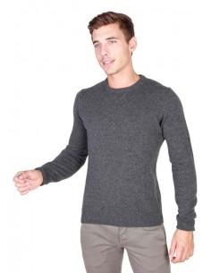 Trussardi jersey cuello redondo - gris vigoré