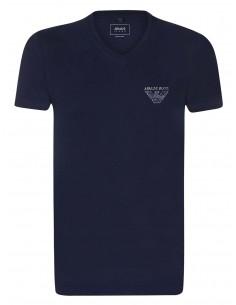 Camiseta Armani Jeans back print - navy