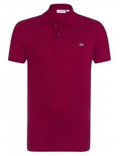 Lacoste polo Square Printed - red