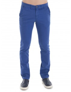 Sir Raymond Tailor pantalón 1037 con microestampado - Royal blue