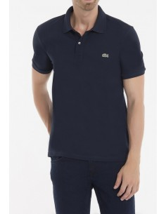 Lacoste polo manga corta slim fit - navy