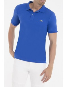 Lacoste polo manga corta slim fit - royal