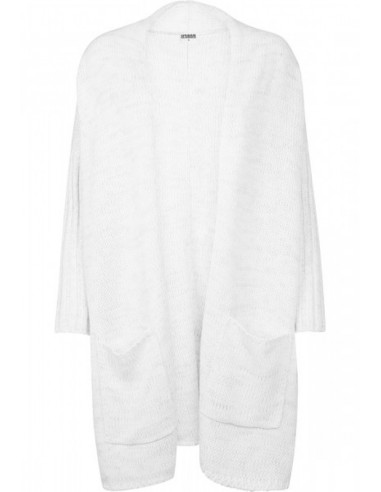 Urban Classics - Cardigan oversized - white/grey