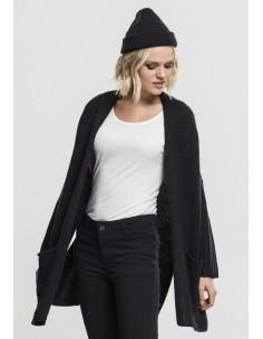 Urban Classics - Cardigan oversized - black/black