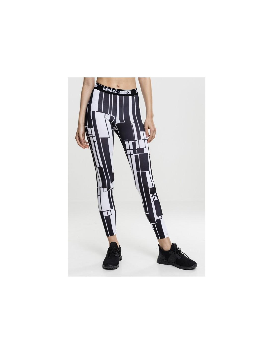 urban classics leggings sportwear black white. Black Bedroom Furniture Sets. Home Design Ideas
