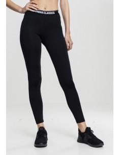 Urban Classics - Leggings sportwear - black