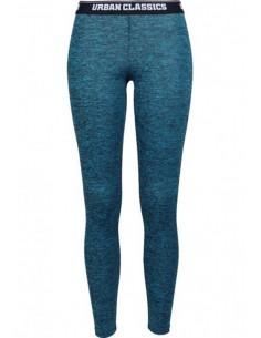 Urban Classics - Leggings sportwear active - turquesa