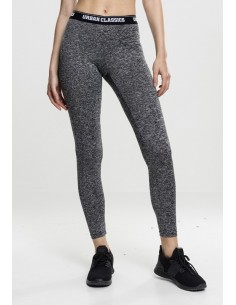 Urban Classics - Leggings sportwear active - gris