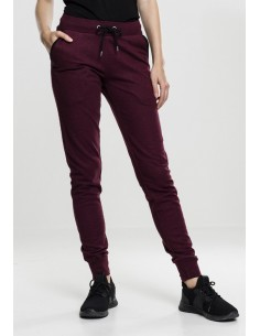 Urban Classics - Jogpants - burgundy
