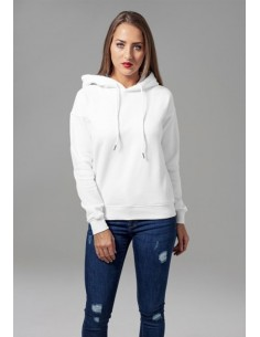 Urban Classics - Sudadera con capucha - white