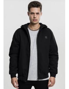 Urban Classics - Zip jacket - black