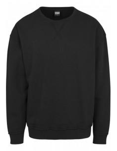 Urban Classics - Sudadera oversized costuras - black