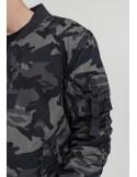 Chaqueta Bomber de Urban Classics en algodón - Dark camo