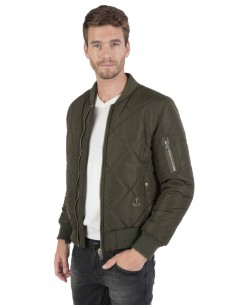Chaqueta Bomber Sir Raymond Tailor quilted - kaki