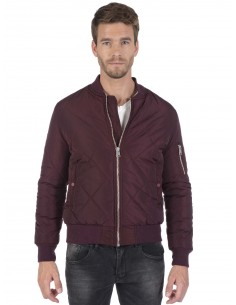 Chaqueta Bomber Sir Raymond Tailor quilted - bordeaux