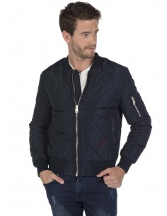 Chaqueta Bomber Sir Raymond Tailor quilted - navy
