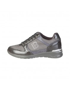 Laura Biagiotti sneackers logo - gris