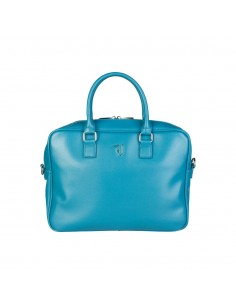 Trussardi bolso maletin mujer - azul