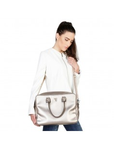 Trussardi bolso maletin mujer - plata