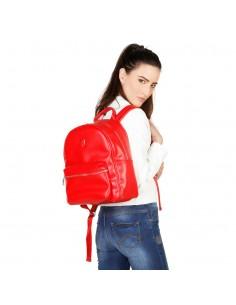 Trussardi bolso mochila mujer - rojo