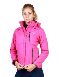 Chaqueta Geographical Norway Tehouda - flashypink
