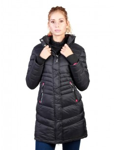 Parka Geographical Norway Antalia - black