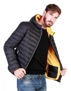 Chaqueta Sparco darlington - black yellow