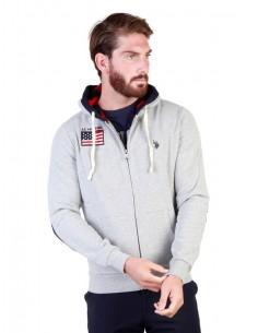 Jersey con capucha U.S. Polo Assn - gris