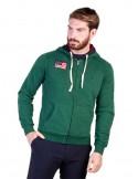Jersey con capucha U.S. Polo Assn - verde botella