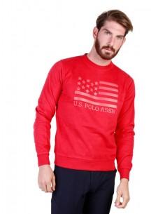 Jersey cuello redondo U.S. Polo Assn - Print red