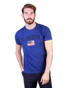 Camiseta US Polo Assn vintage - royal