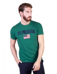 Camiseta US Polo Assn vintage - verde university