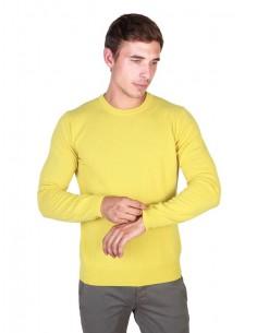 Trussardi sueter cuello redondo - yellow