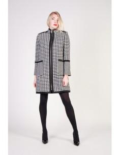 Fontana 2.0 abrigo antea - blanco y negro