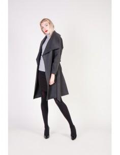 Fontana 2.0 abrigo adorata - gris negro