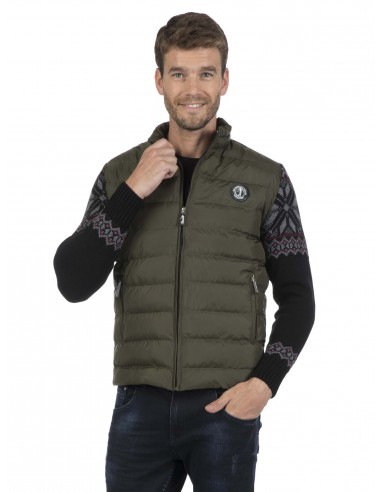Sir Raymond Tailor chaqueta combinada grecas - kaky