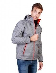 Chaqueta Geographical Norway Twixer - lgrey orange