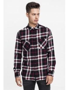 Urban Classics camisa escocesa