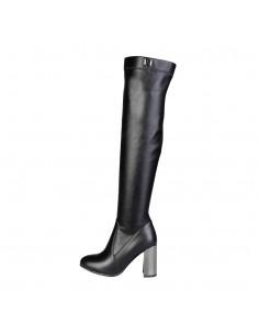 Laura Biagiotti botas altas tacón - negro