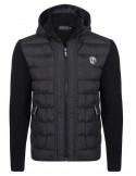 Sir Raymond Tailor chaqueta con capucha combinada - black