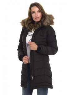Parka larga Sir Raymond Tailor - black