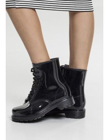 Urban Classics botas para la lluvia con cordones