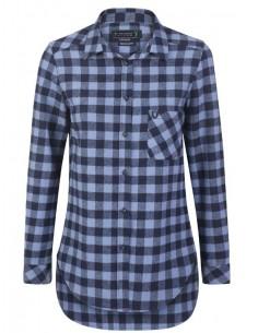 Camisa Sir Raymond Tailor flanell - blue navy