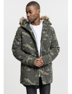 Parka Urban Classics washed camo