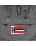 Parka Geographical Norway tipo canguro biblos - grey
