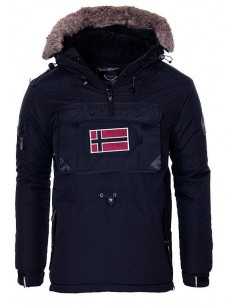 Parka Geographical Norway tipo canguro biblos - navy