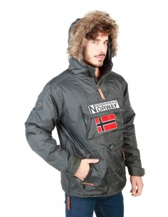 Canguro Geographical Norway Boomerang - gris oscuro