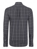 Camisa Polo de hombre regular fit - black flanell